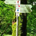 Wegweiser am Brühlbach
